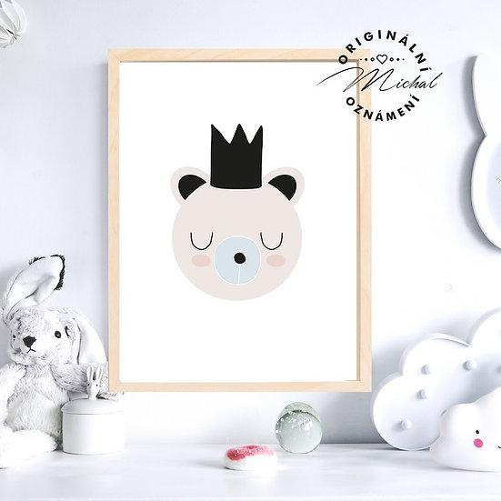 Plakát medvídek Méďa