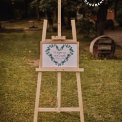 Plakát Vítejte na naší svatbě