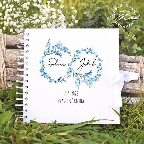 Svatební kniha hostů v pevných knižních deskách - 78