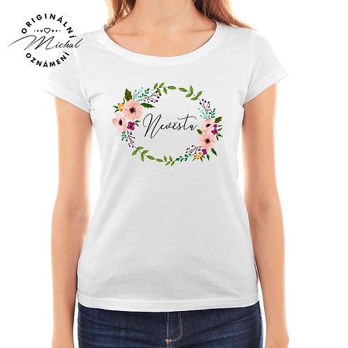 Svatební tričko s potiskem - D30