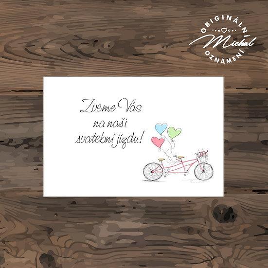 Pozvánka ke svatebnímu stolu - TYP 239