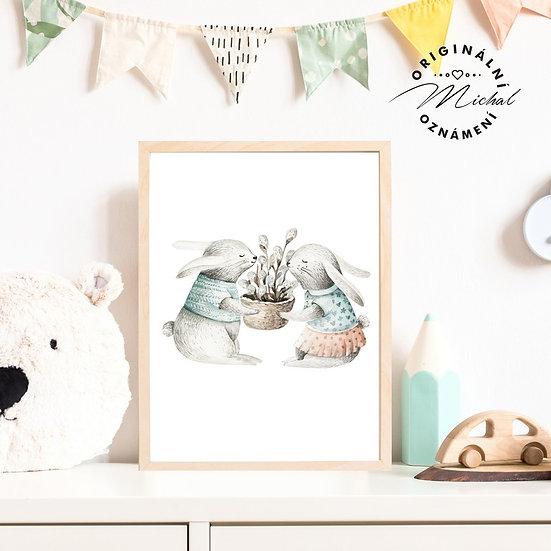 Plakát zajíčkové miláčci