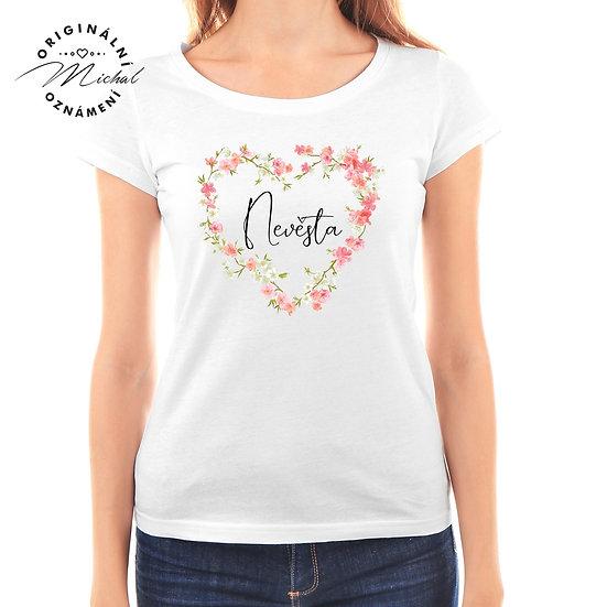 Svatební tričko s potiskem - D45