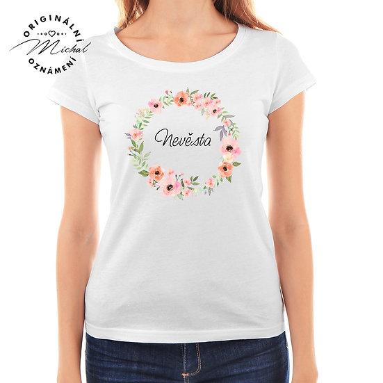 Svatební tričko s potiskem - D26