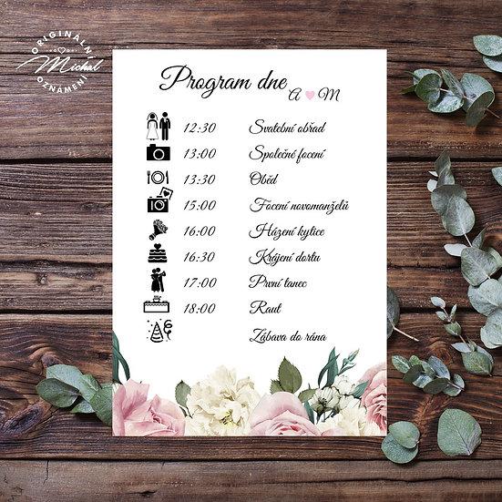 Svatební program - P11