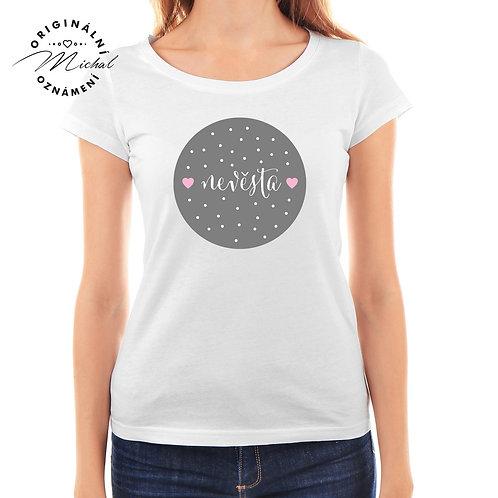 Svatební tričko s potiskem - D10