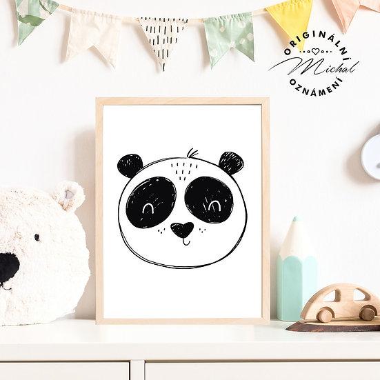 17 - Panda srdíčko