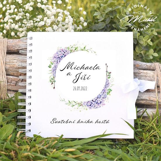Svatební kniha hostů v pevných knižních deskách - 81