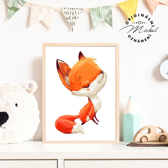 Plakát liška lišák