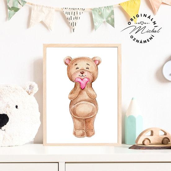 65 - Medvídek srdíčko