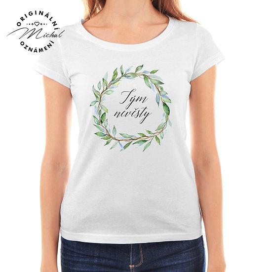 Svatební tričko s potiskem - D5