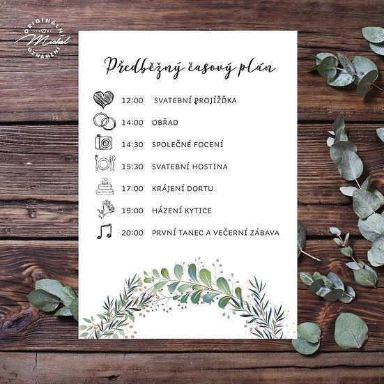 Svatební program - P10
