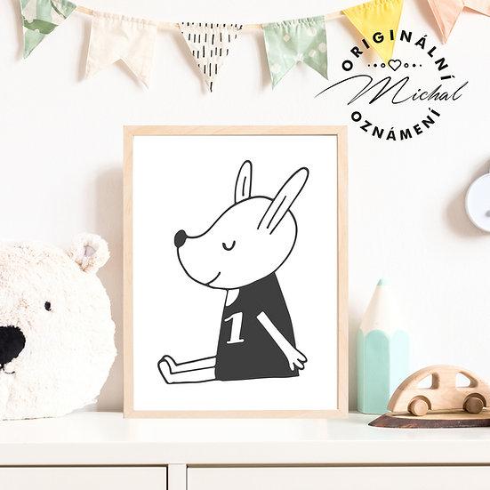 Plakát Zvířátko