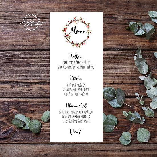 Svatební menu - TYP M04