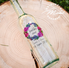 Etikety, nálepky, štítky na lahve
