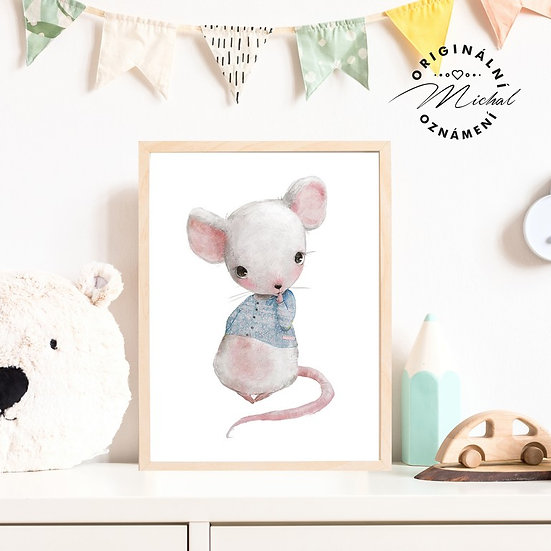 Plakát myšák myš