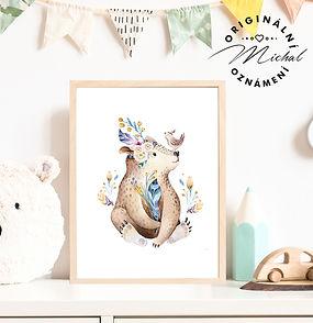 Plakátek medvídek s ptáčkem.jpg