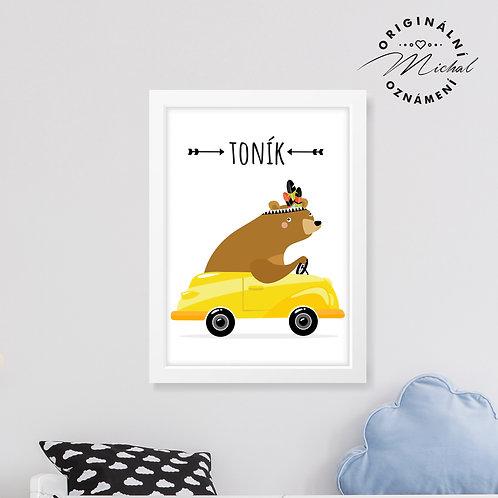 Závodník SE JMÉNEM NA PŘÁNÍ - plakát