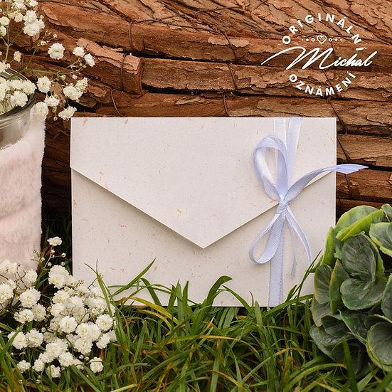 Kapsa na oznámení bez kolečka k mému oznámení - sluneční papír