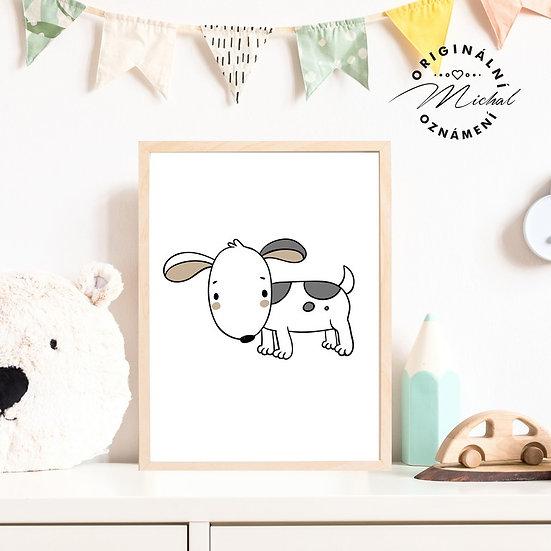 Plakát pes