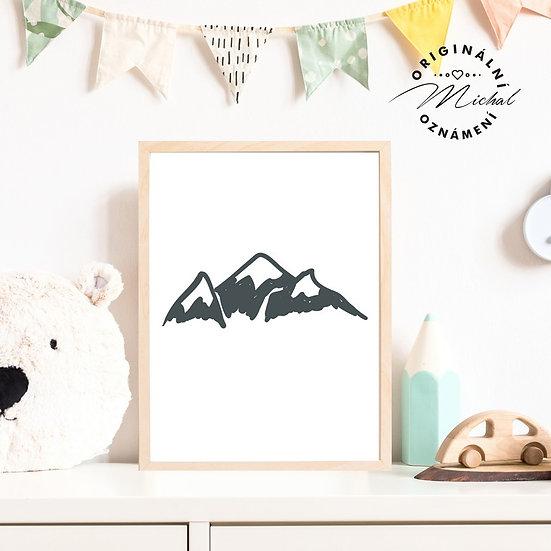Plakát hory