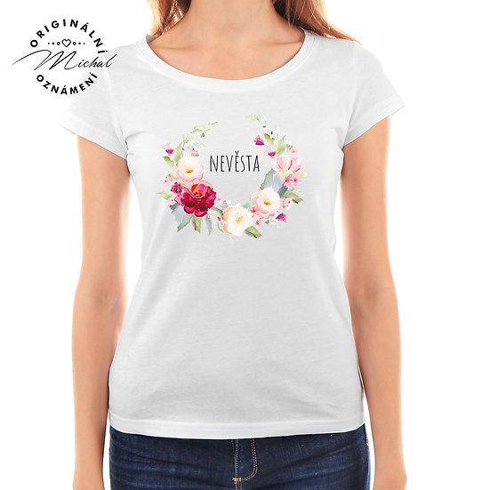 Svatební tričko s potiskem - D33