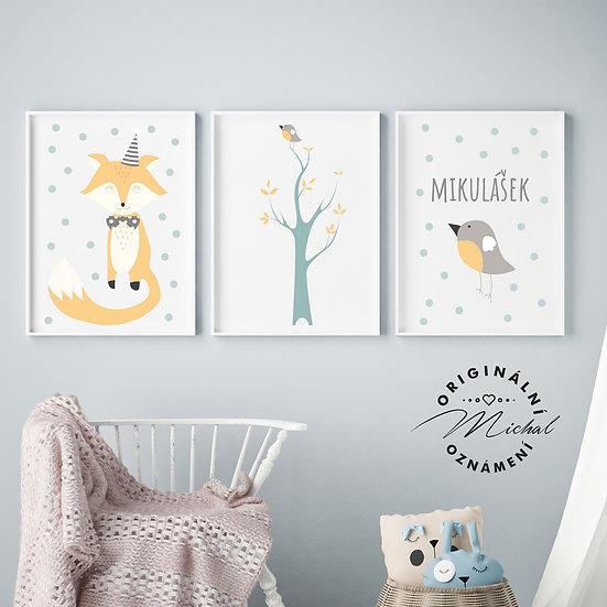Lišáček  set – plakáty