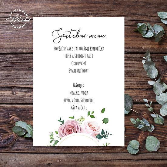 Svatební menu - TYP M13