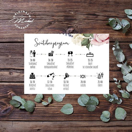 Svatební program - P08