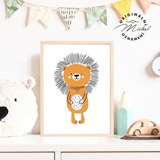 Plakát ježek Jarda