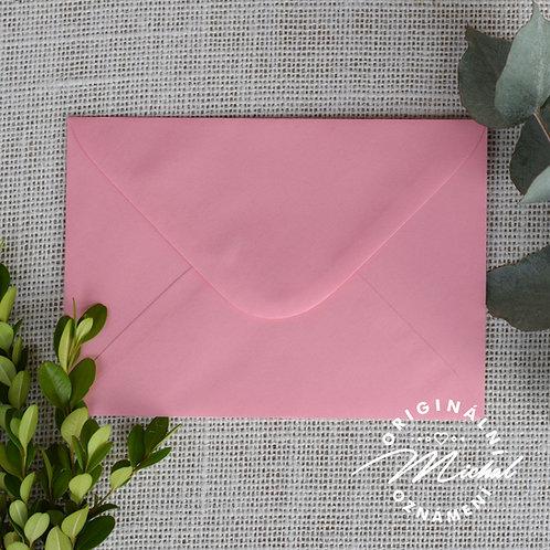 Růžová obálka