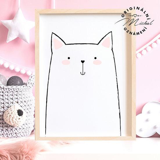 Plakát kočička Micinka