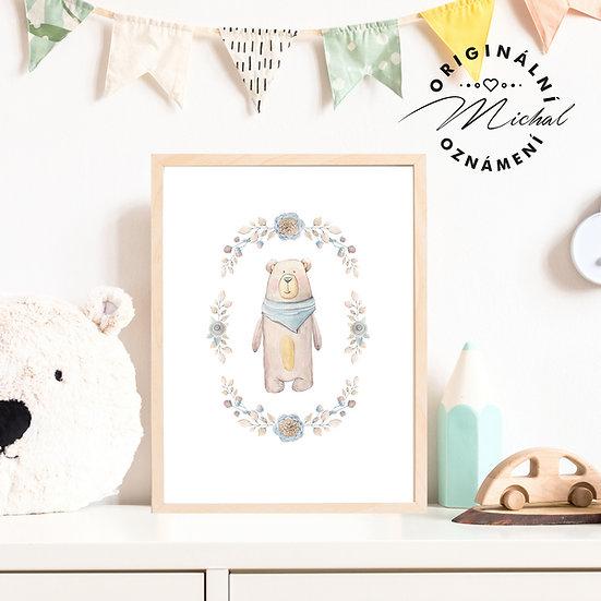 Plakát medvídek 5