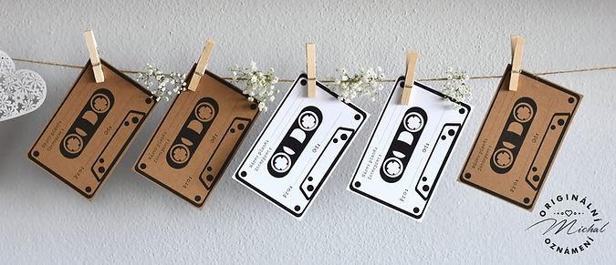 Svatební kazety pro DJ