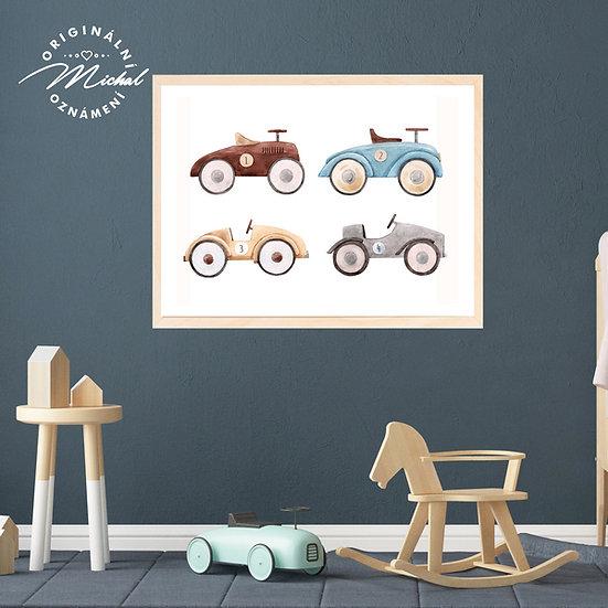 Plakát autíčka