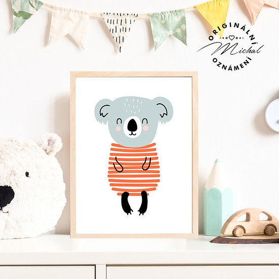 Plakát koala Lucka