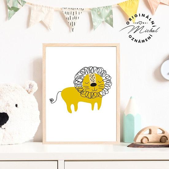 Plakát lvíček
