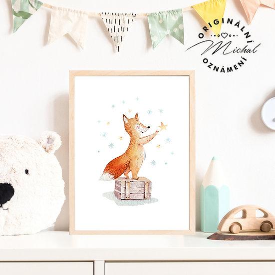 Plakát lišáček liška