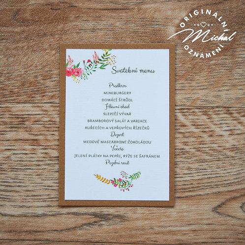 Svatební menu - TYP 52