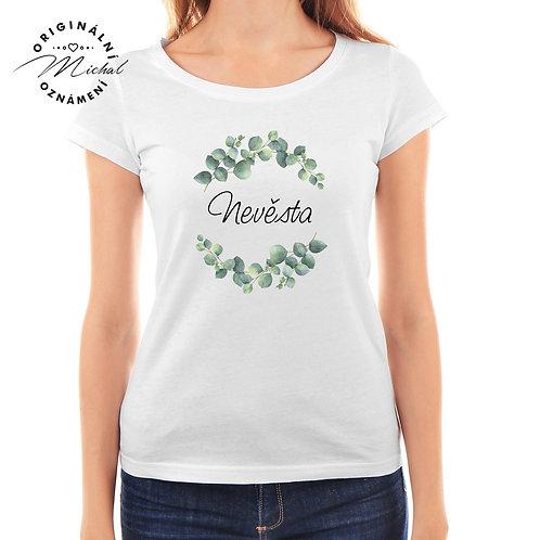 Svatební tričko s potiskem - D28