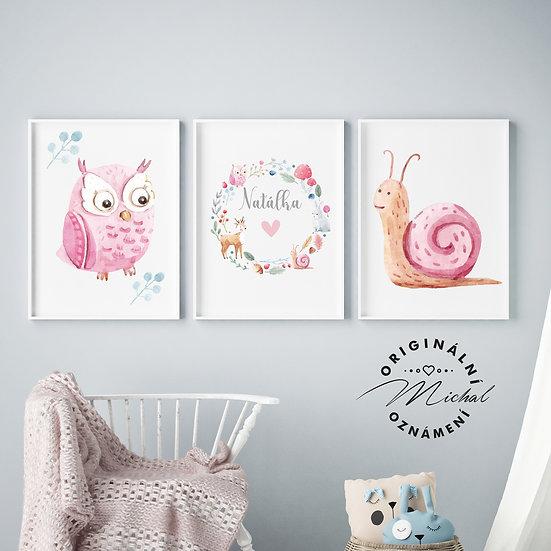 Pro holčičky set – plakáty