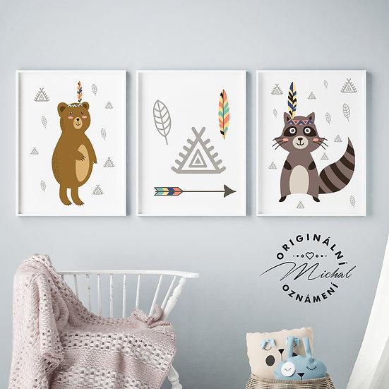 Pro malé indiány set – plakáty