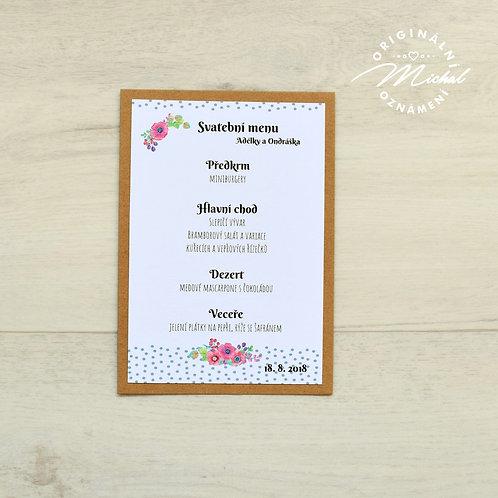 Svatební menu - TYP 35