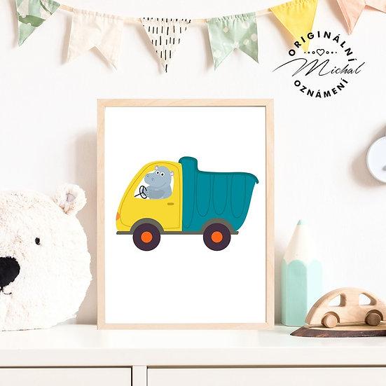 Plakát náklaďák