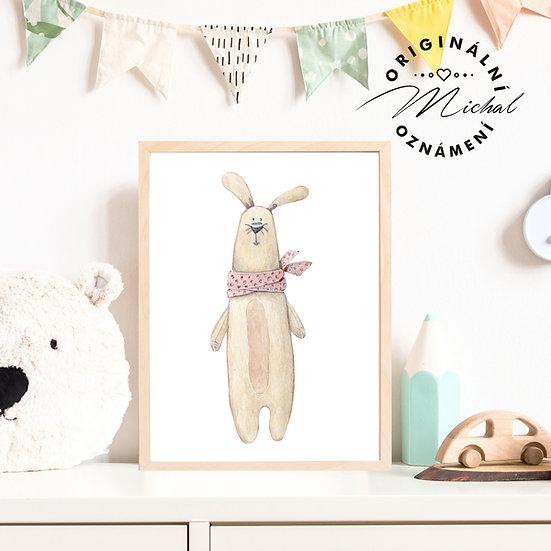 Plakát králíček