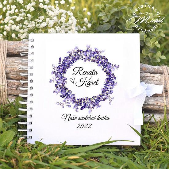 Svatební kniha hostů v pevných knižních deskách - 43