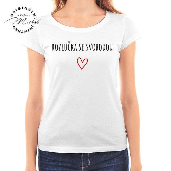 Svatební tričko s potiskem - D48