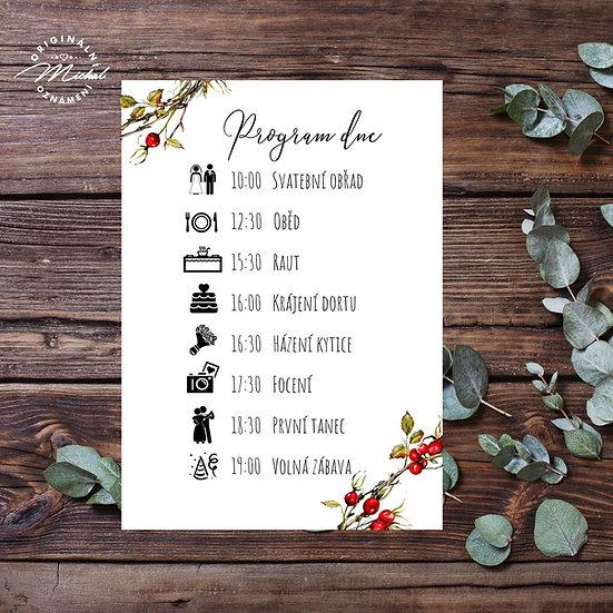 Svatební program - P02
