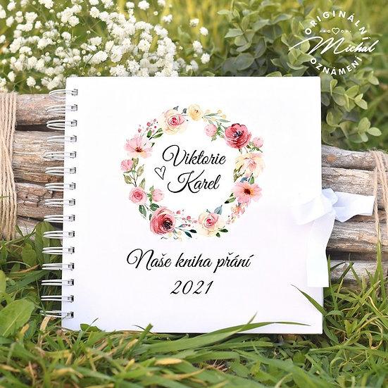 Svatební kniha hostů v pevných knižních deskách - 26