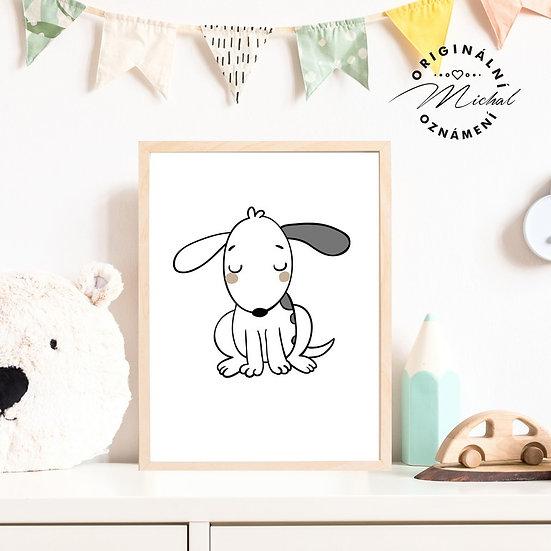 Plakát pejsek pes